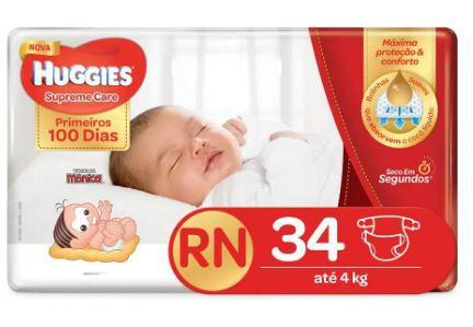 Fraldas  RN - Huggies
