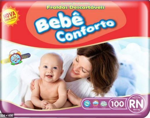 Fraldas RN - Bebê conforto