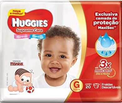 Fraldas Huggies G