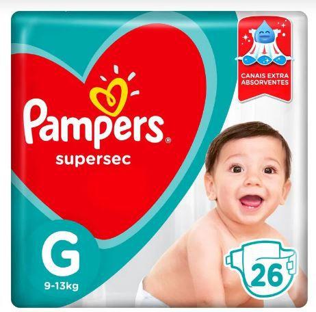 Fraldas Pampers G