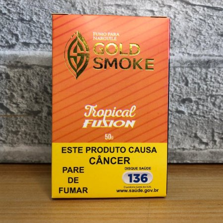 ESSÊNCIA GOLD SMOKE 50g TROPICAL FUSION (AÇAÍ, BANANA, MENTA)