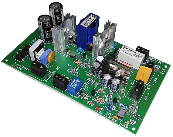 FONTE NOBREAK 12V (13,8VDC) /  5A 69W SEM CAIXA PCB-600.0051