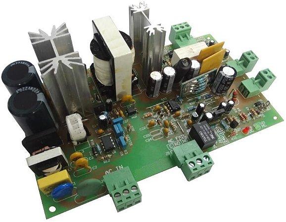 FONTE NOBREAK 24V (27,6VDC) /  5A 138W  FULL POWER SEM CAIXA PCB-600.0067