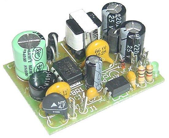 MINI FONTE F.R. ENTRADA 85 A 265VAC SAÍDA 12VDC / 350MA (0,35A) 4,2W SEM CAIXA