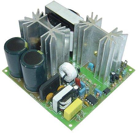 FONTE FULL RANGE ENTRADA 85 A 265V SAÍDA 24VDC / 5A 120W SEM CAIXA PCI 600.0168