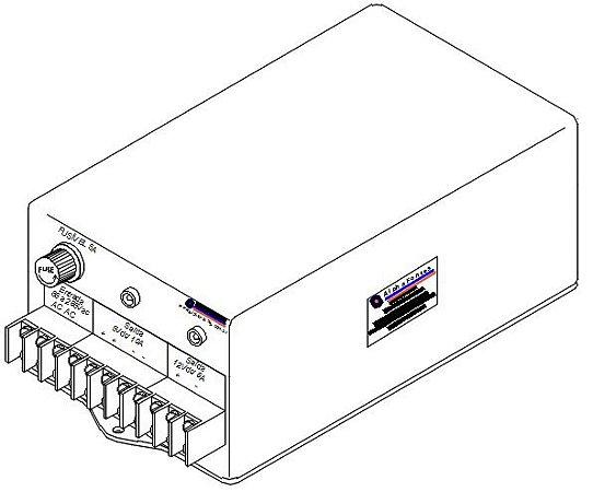FONTE FULL RANGE ENTRADA 85 A 265VAC SAÍDA 5VDC / 10A, 12VDC / 6A 122W COM CAIXA PCI 2X600.0001