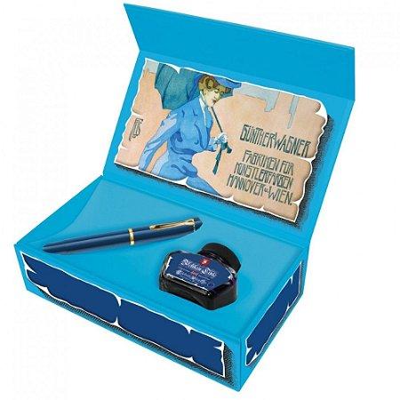 Caneta Tinteiro Pelikan M120 Iconic Blue