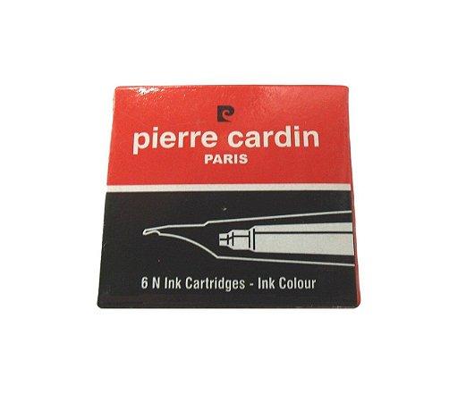 Cartucho de Tinta Pierre Cardin Padrão Internacional c/6