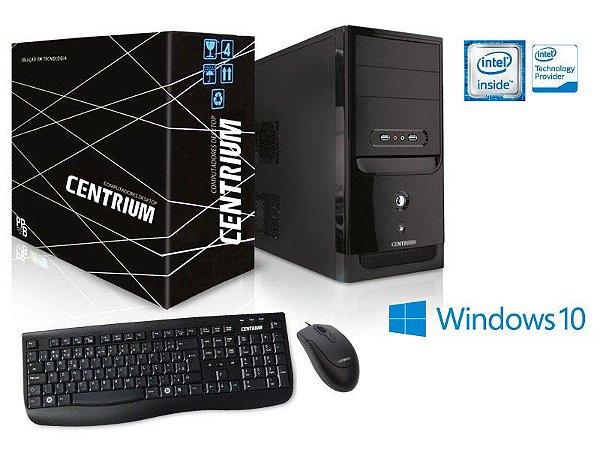 COMPUTADOR INTEL WINDOWS CENTRIUM THINTOP 3060 INTEL DUAL CORE J3060 1.6GHZ 4GB 500GB WINDOWS 10