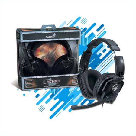 HEADSET GAMER GENIUS HS-G550 COM DRIVER 50MM