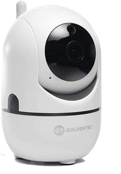 CÂMERA DE SEGURANÇA GOLDENTEC GT HD WI-FI 360° COMPATIVEL ANDROID E IOS
