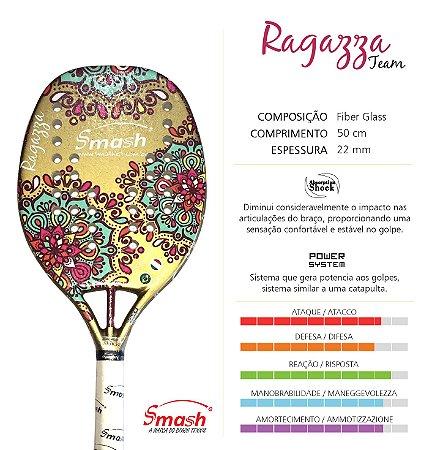 Raquete 2017 SMASH  Ragazza Team