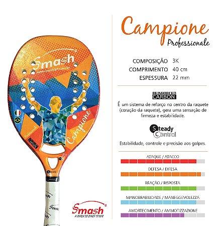 Raquete 2017 SMASH Campione Professionale
