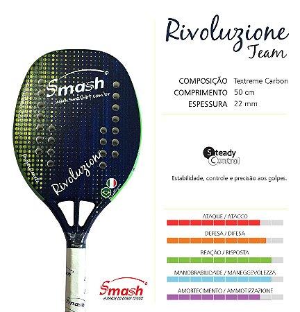 Raquete 2018 SMASH Rivoluzione Team