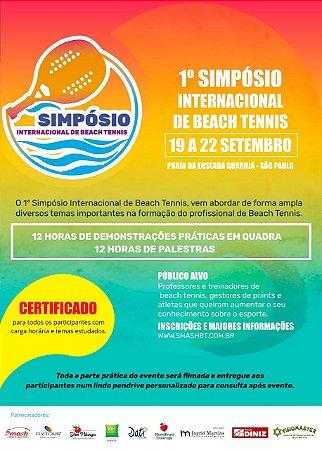 I Simpósio Internacional de Beach Tennis