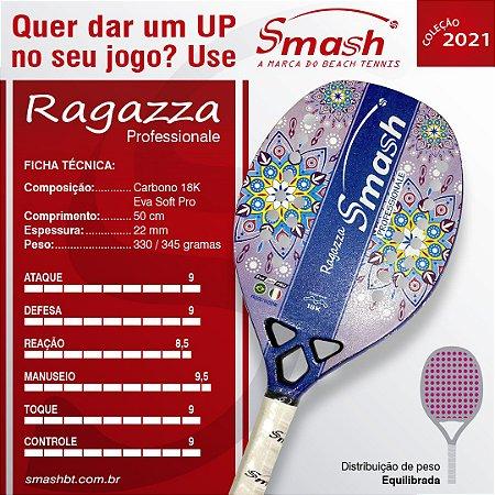 Raquete de Beach Tennis  - Smash BT – Mod. Ragazza Professionale