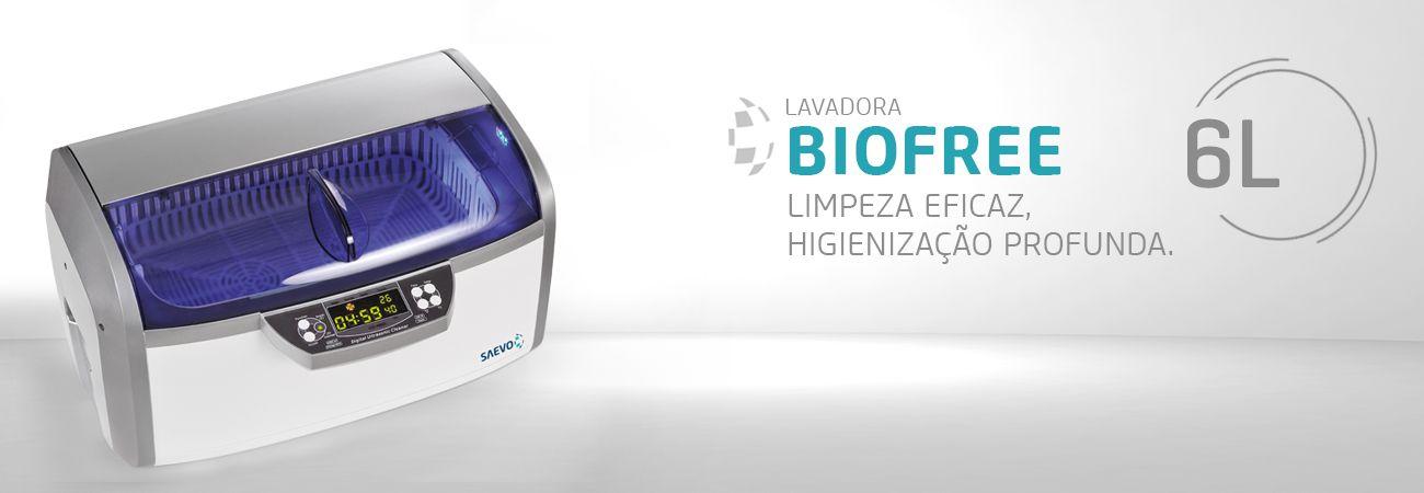 Lavadora Ultrassônica Saevo Biofree 6L