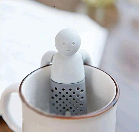 Infusor de Chá em Silicone Boneco Divertido