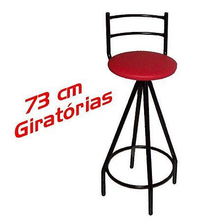 Banqueta Giratória Alta