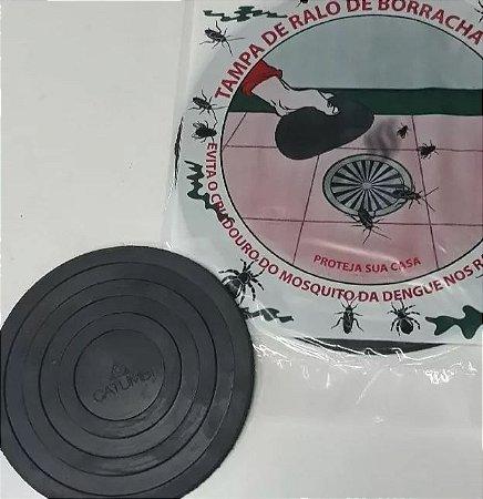 Tampa De Borracha Para Ralo Kit com 3 Peças