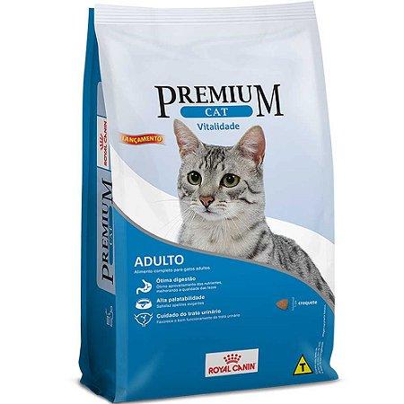 Ração Royal Canin Premium Vitalidade Para Gatos Adultos