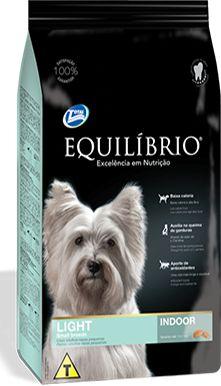 Ração Equilibrio Light Para Cães Adultos Raças Pequenas