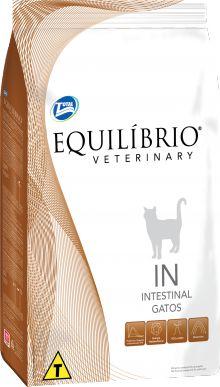 Ração Equilibrio Veterinary Cat Intestinal Para Gatos Adultos