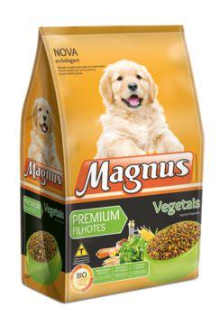 Ração Adimax Pet Magnus Premium Para Cães Filhotes Sabor Vegetais