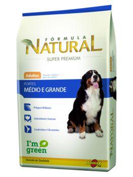 Ração Adimax Pet Fórmula Natural Para Cães Adultos de Raças Médias e Grandes - 14,0kg