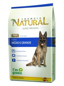 Ração Adimax Pet Fórmula Natural Para Cães Sênior de Raças Médias e Grandes - 14,0kg