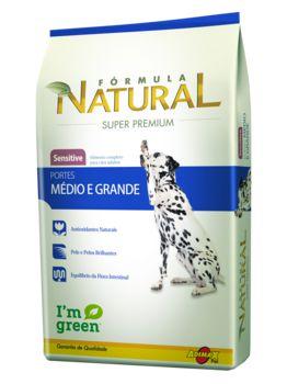 Ração Adimax Pet Fórmula Natural Sensitive Para Cães Adultos de Raças Médias e Grandes - 14,0kg