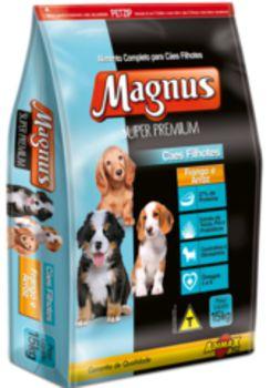 Ração Adimax Pet Magnus Super Premium Para Cães Filhotes Sabor Frango e Arroz