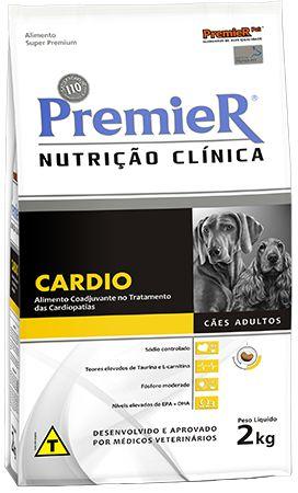Ração Premier Nutrição Clinica Cardio Para Cães Com Problemas Cardíacos - 2,0kg