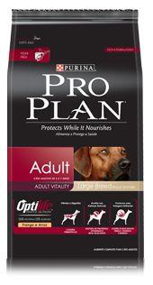Ração Purina Pro Plan Para Cães Adultos de Raças Grandes Sabor Frango e Arroz