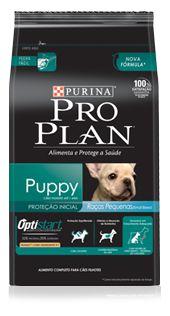 Ração Purina Pro Plan Para Cães Filhotes De Raças Pequenas Sabor Frango e Arroz