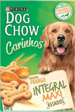 Petisco Purina Dog Chow Carinhos Integral Maxi Para Cães Adultos de Raças Grandes