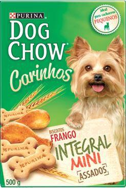 Petisco Purina Dog Chow Carinhos Integral Mini Para Cães Adultos de Raças Pequenas