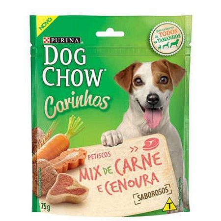 Petisco Purina Dog Chow Carinhos Mix Sabor Carne e Cenoura