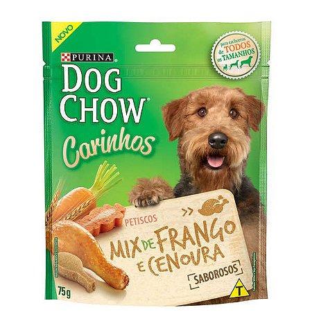 Petisco Purina Dog Chow Carinhos Mix Sabor Frango e Cenoura