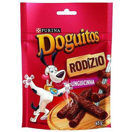 Petisco Doguitos Bifinho Para Cães Sabor Linguicinhas - 45gr