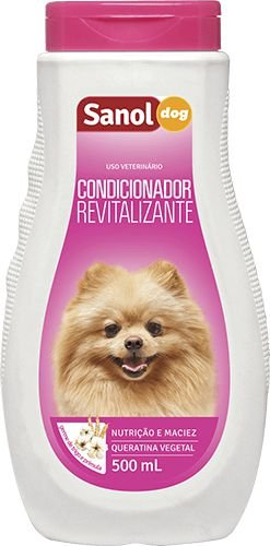 Condicionador Revitalizante Sanol Dog Para Cães e Gatos - 500ml