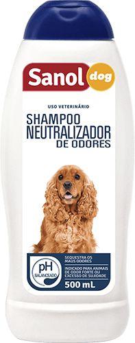 Shampoo Neutralizador De Odores Sanol Dog - 500ml