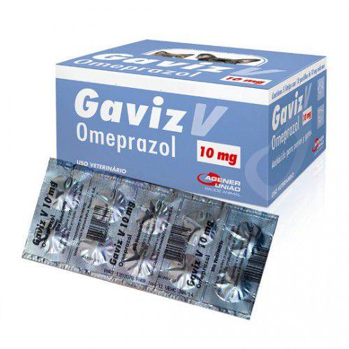 Graviz V Omeoprazol 10mg Com 10 Comprimidos