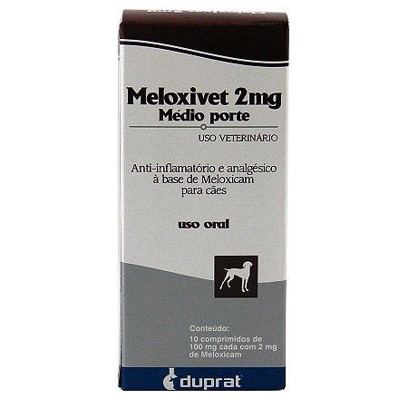 Anti-Inflamatório Meloxivet 2mg Duprat