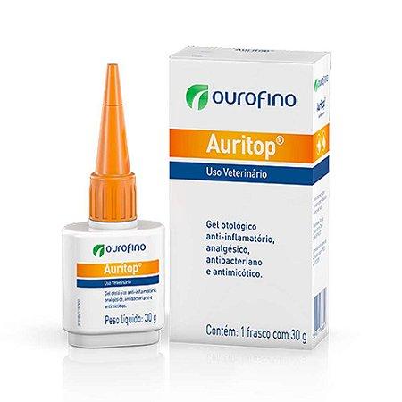 Tratamento Otológico Auritop Ouro Fino - 30g