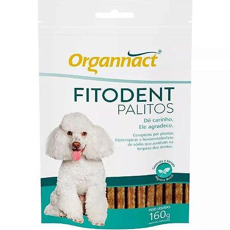 Suplemento Auxilia Limpeza Dos Dentes Fitodent Organnact Sachê - 160gr