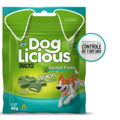Petisco Dog Licious Dental Fresh Crunch Small 45g