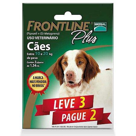 Frontline Plus Cães De 10 a 20kg (Combo) Leve 3 Pg 2