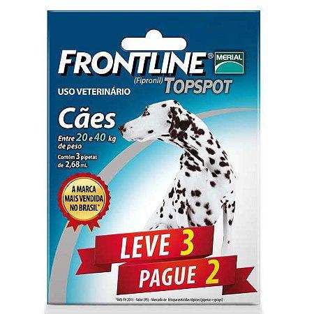 Frontline Topspot Para Cães De 20 a 40kg (Combo) Leve 3 Pg 2