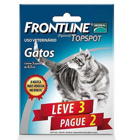 Frontline Topspot Para Gatos (Combo) Leve 3 Pg 2